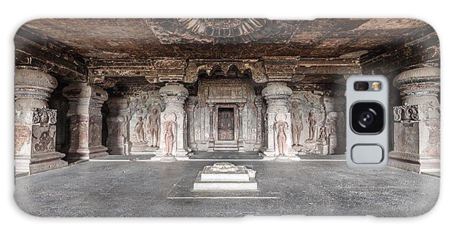 Religious Galaxy Case featuring the photograph Ellora Caves Near Aurangabad by Saiko3p