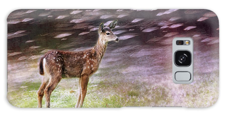 Fawn Galaxy S8 Case featuring the photograph Fawn On The Mckenzie, No. 6 by Belinda Greb