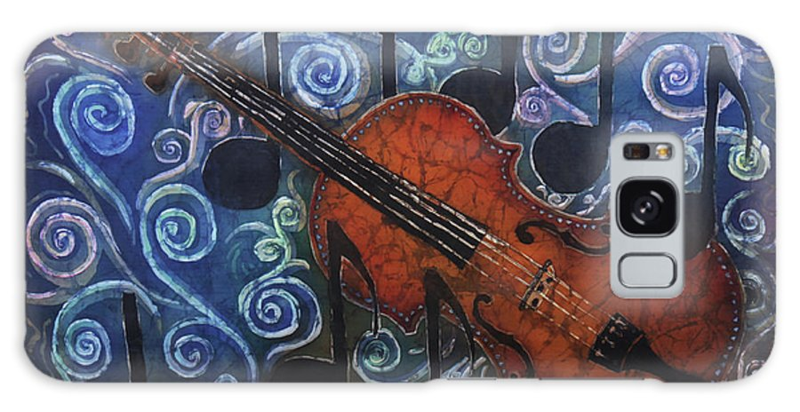 Fiddle Galaxy S8 Case featuring the painting Fiddle 1 by Sue Duda