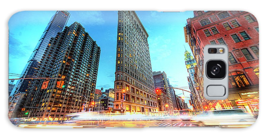 Outdoors Galaxy Case featuring the photograph Flatiron by Tony Shi Photography