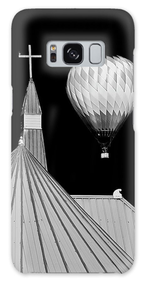 Geometric Galaxy Case featuring the photograph Geometric Patterns at Balloon Fest by Zayne Diamond Photographic
