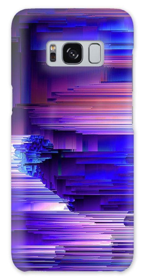 Glitchin Blues Galaxy S8 Case