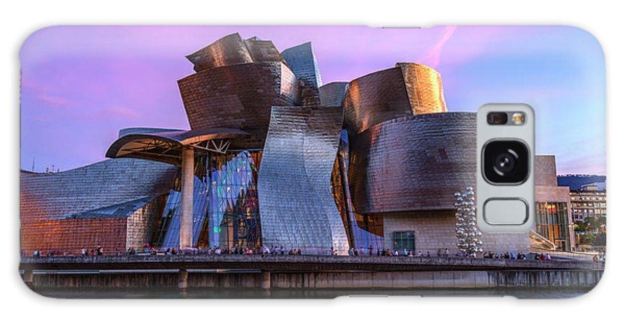 Guggenheim Museum Galaxy S8 Case featuring the photograph Guggenheim Museum - Bilbao, Spain by Joana Kruse