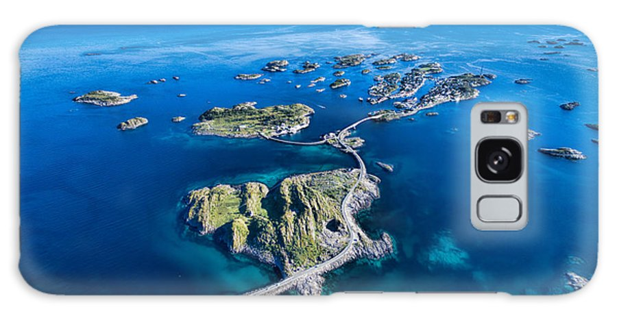 Town Galaxy S8 Case featuring the photograph Henningsvaer, Fishing Port On Lofoten by Harvepino
