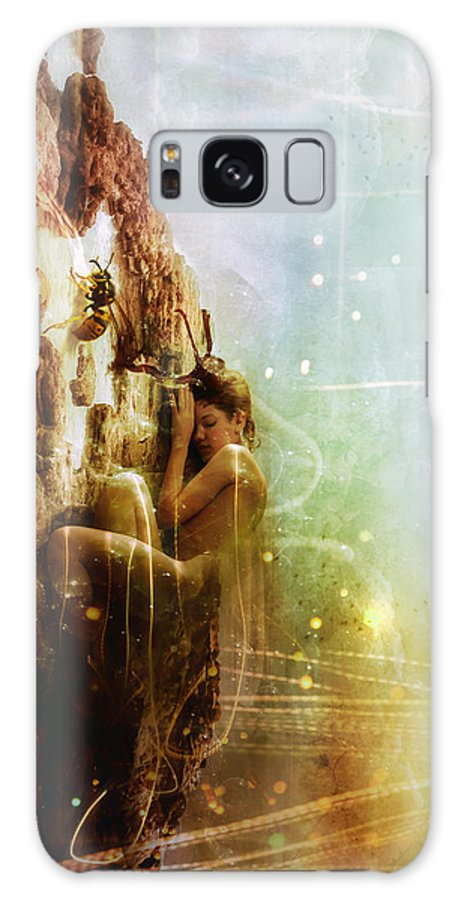 Surreal Galaxy S8 Case featuring the digital art How To Disappear Completely by Mario Sanchez Nevado