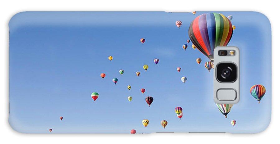 Event Galaxy Case featuring the photograph International Balloon Fiesta by Prmoeller