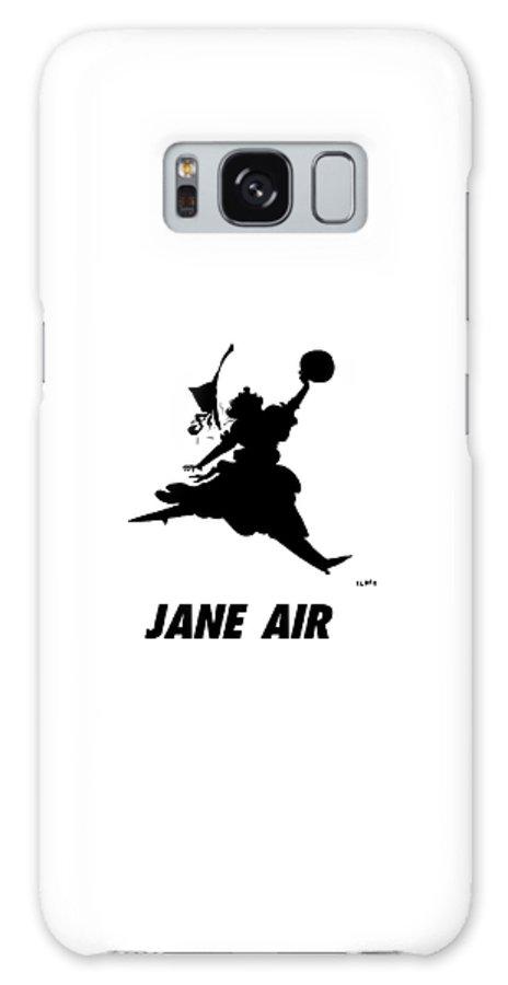 Jane Air Galaxy S8 Case featuring the drawing Jane Air by Sara Lautman