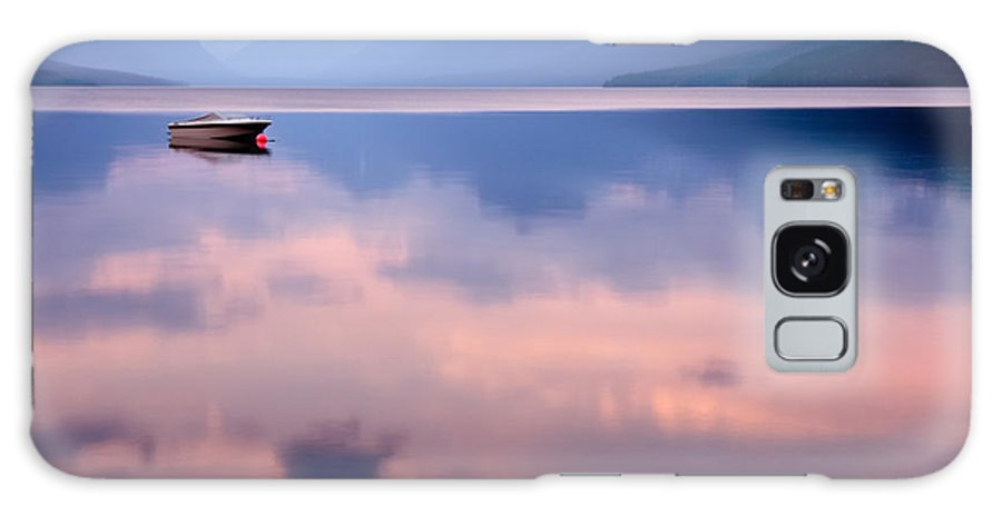 Atmosphere Galaxy Case featuring the photograph Lake Mcdonald by Yao Li Photography