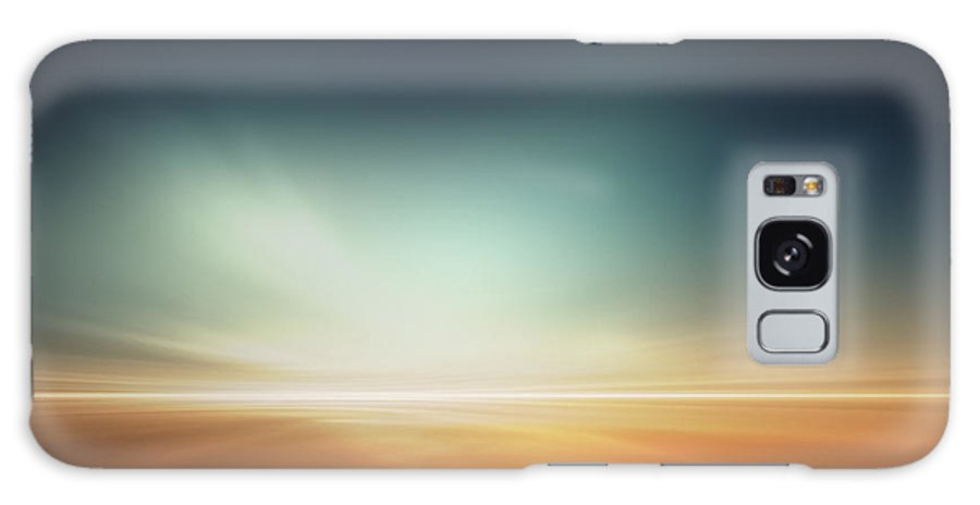 Magic Galaxy S8 Case featuring the digital art Mars Desert Like Fantasy Landscape by Pixelparticle