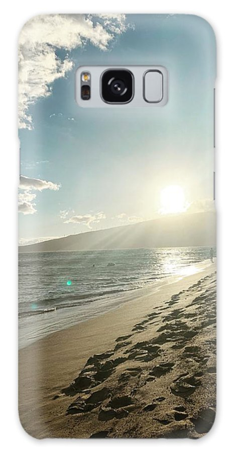 Hawaii Galaxy Case featuring the photograph Maui by Kristin Rogers