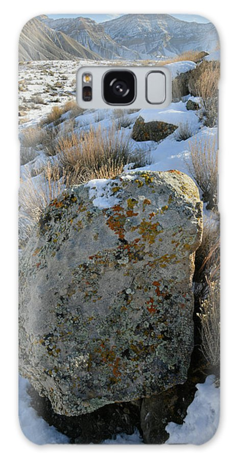 Book Cliffs Galaxy S8 Case featuring the photograph Morning At The Book Cliffs by Ray Mathis