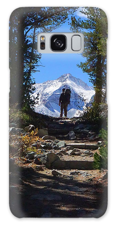 Eastern Galaxy S8 Case featuring the photograph Mountains Are Calling by Richard A Brown