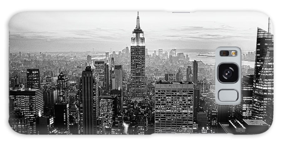 Outdoors Galaxy Case featuring the photograph New York City by Randy Le'moine
