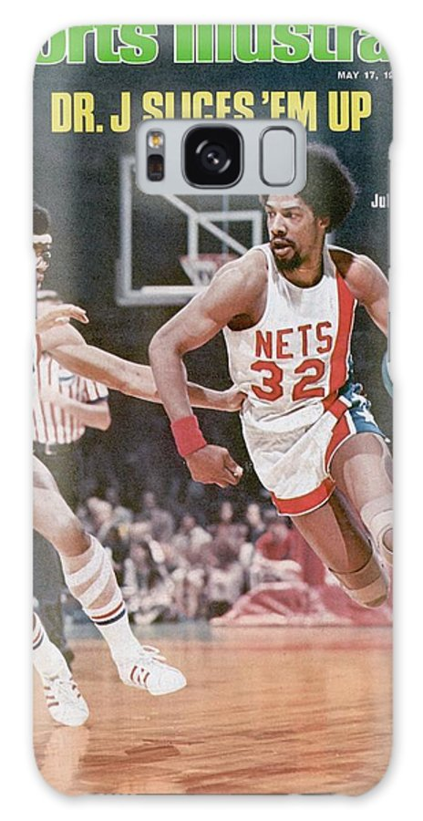 Julius Erving Galaxy Case featuring the photograph New York Nets Julius Erving, 1976 Aba Championship Sports Illustrated Cover by Sports Illustrated