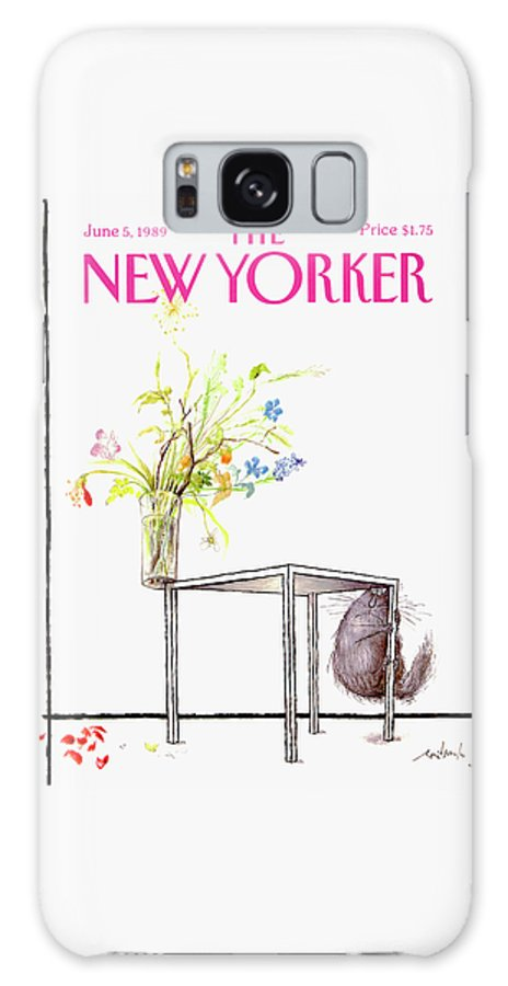 New Yorker Cover June 5 1989 Galaxy Case