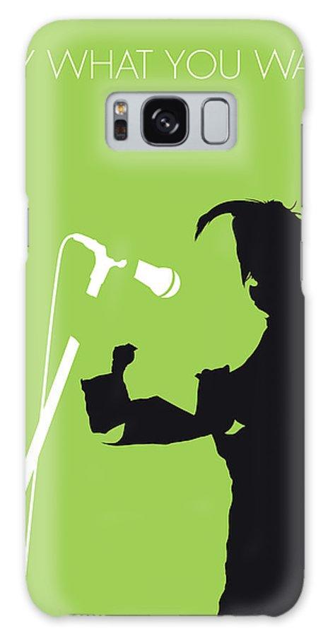 Texas Galaxy S8 Case featuring the digital art No216 My Texas Minimal Music Poster by Chungkong Art