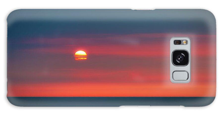 Atlantic Galaxy S8 Case featuring the photograph Ocean Sunrise by Tom Mc Nemar