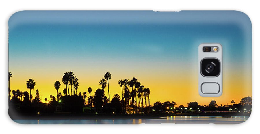 Mission Bay Galaxy S8 Case featuring the photograph Palms Of De Anza Cove, Mission Bay by Richard A Brown