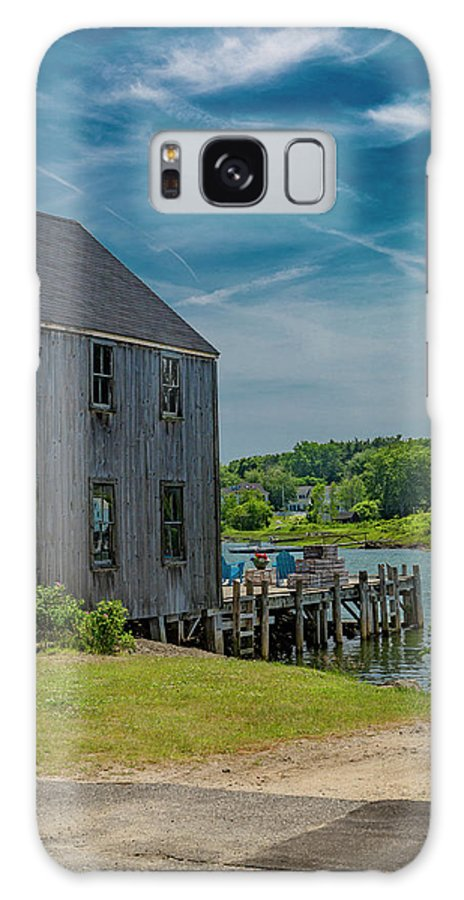 Kennebunkport Galaxy S8 Case featuring the photograph Peaceful View Near Kennebunkport by Betsy Knapp