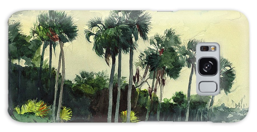 Painting Galaxy S8 Case featuring the painting Red Shrt, Homosassa, Florida by Winslow Homer