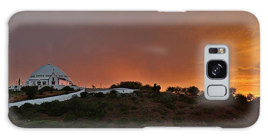 Mae Soberana Galaxy S8 Case featuring the photograph Santuario De Nossa Senhora Da Piedade At Sunset In Loule by Angelo DeVal