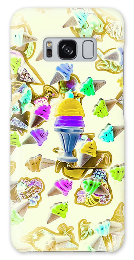 Sweet Galaxy S8 Case featuring the photograph Served Ice-cream Cold by Jorgo Photography - Wall Art Gallery