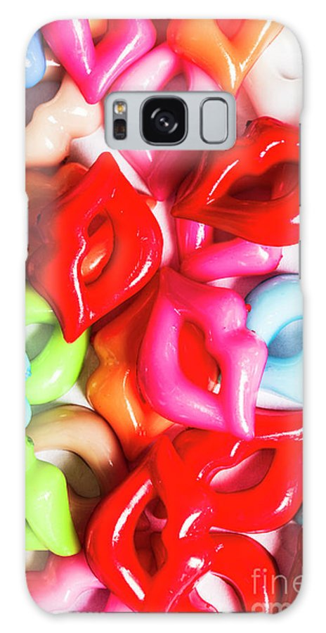 Kiss Galaxy S8 Case featuring the photograph Sexy Lips by Jorgo Photography - Wall Art Gallery