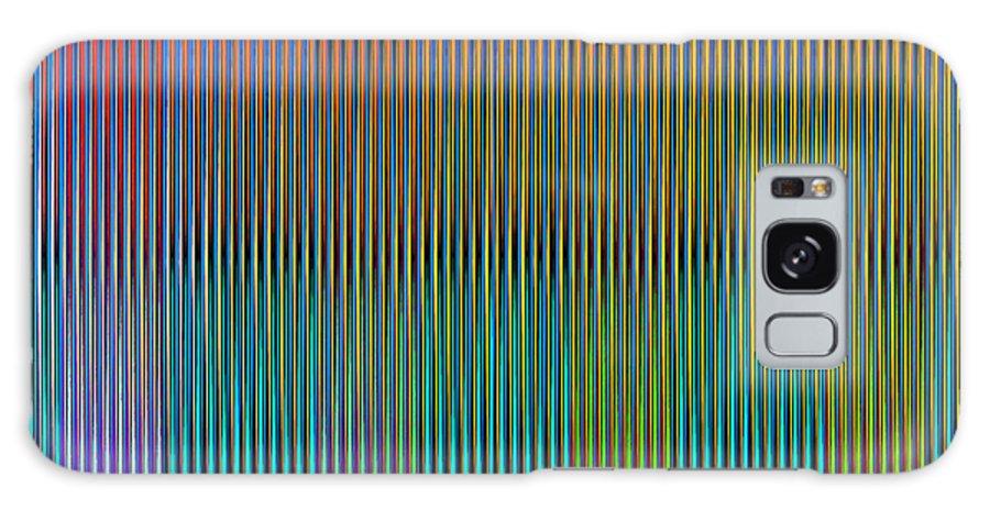 Cinetico Galaxy S8 Case featuring the digital art Static Movement by Galeria Trompiz