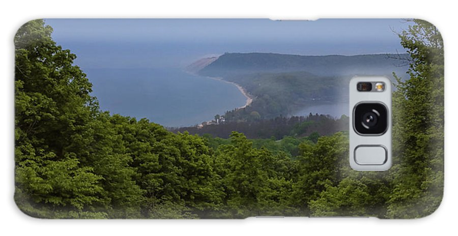 Sleeping Bear Dunes Lakeshore Galaxy S8 Case featuring the photograph Stormy Day On Sleeping Bear Dunes by Dan Sproul