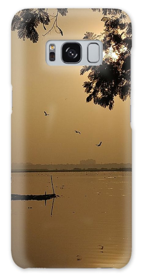 Sunset Galaxy S8 Case featuring the photograph Sunset by Priya Hazra