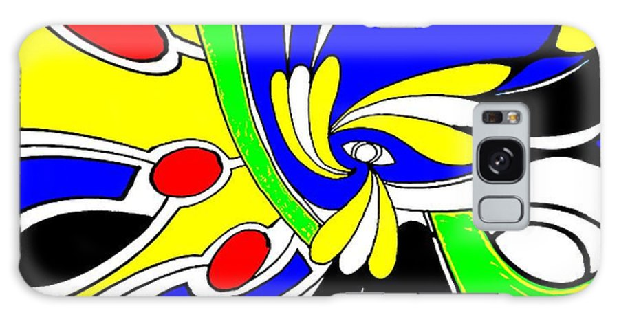 Abstract Galaxy Case featuring the digital art Tears by Graham Roberts