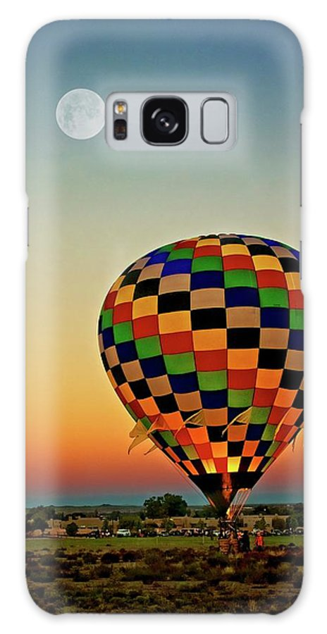 Southwest Galaxy Case featuring the photograph The Dawn of Light, 2017 Albuquerque International Balloon Festival by Zayne Diamond Photographic
