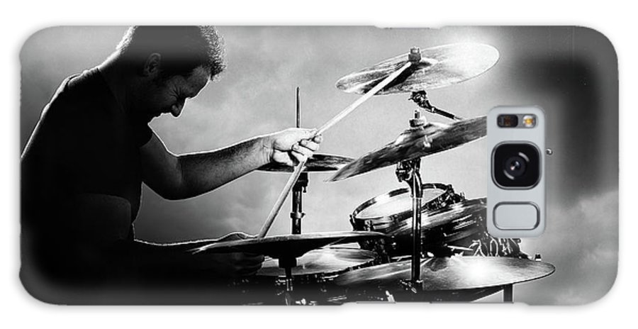 Drummer Galaxy Case featuring the photograph The Drummer by Johan Swanepoel