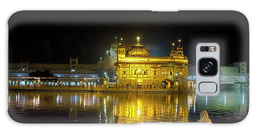 Sitting On Floor Galaxy Case featuring the photograph The Golden Temple by Manish Narang Photography