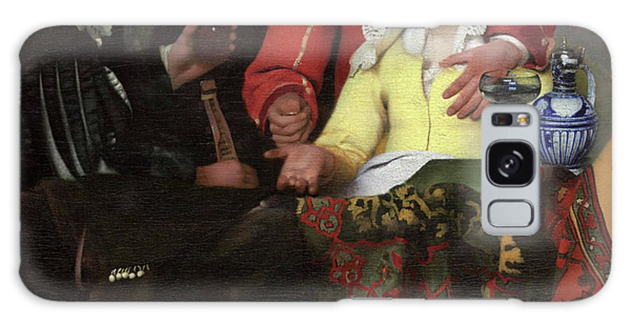 Jan Vermeer Galaxy S8 Case featuring the painting The Procuress, 1656 by Jan Vermeer