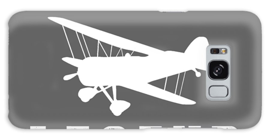 This Is Galaxy S8 Case featuring the digital art This Is What The Back Of A Rc-plane Legend Looks Like by Black Shirt