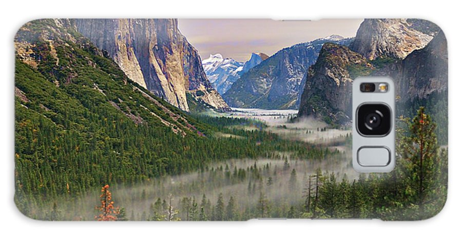 Scenics Galaxy Case featuring the photograph Tunnel View. Yosemite. California by Sapna Reddy Photography