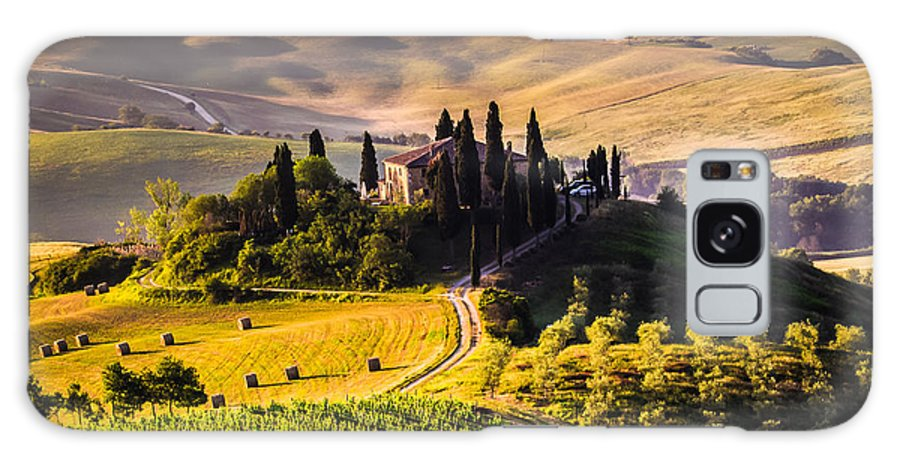 Country Galaxy Case featuring the photograph Tuscany, Italy - Landscape by Ronnybas Frimages