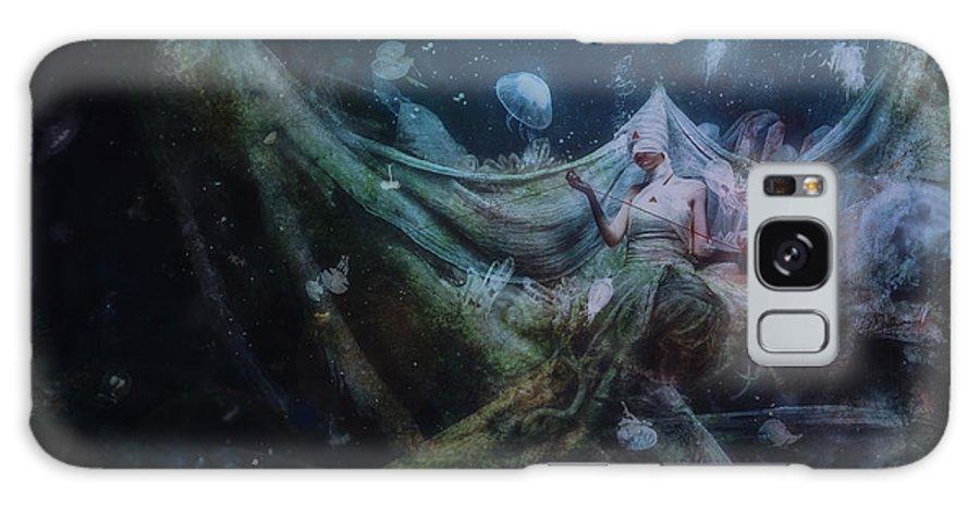 Surreal Galaxy S8 Case featuring the digital art Unravel by Mario Sanchez Nevado