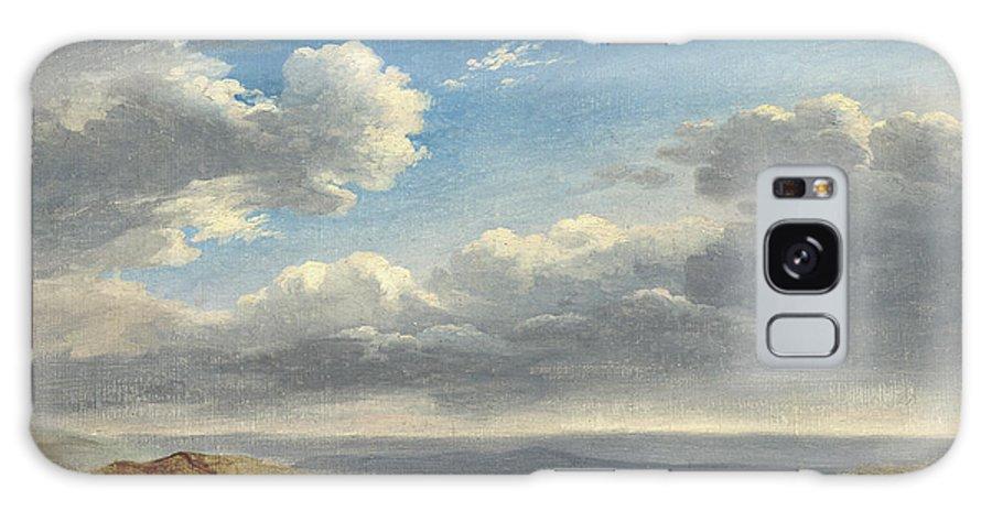 B1019 Galaxy S8 Case featuring the painting Valenciennes: Study, C1782 by Pierre-henri De Valenciennes