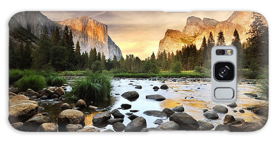 Scenics Galaxy Case featuring the photograph Valley Of Gods by John B. Mueller Photography