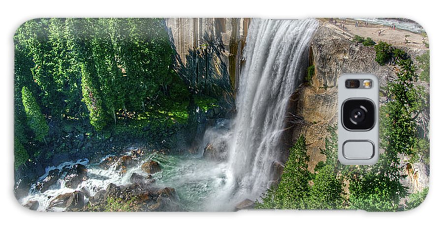Scenics Galaxy Case featuring the photograph Vernal Falls by Aaron Meyers