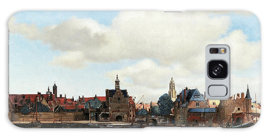 Johannes Vermeer Galaxy S8 Case featuring the painting View Of Delft, 1661 by Johannes Vermeer