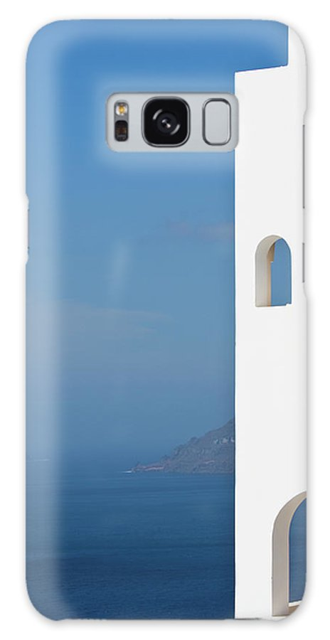 Greece Galaxy Case featuring the photograph Windows To The Blue by Arturbo