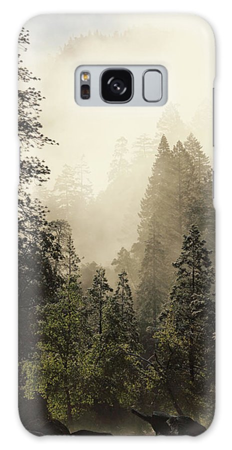 Scenics Galaxy Case featuring the photograph Yosemite National Park West Entrance by Arturbo