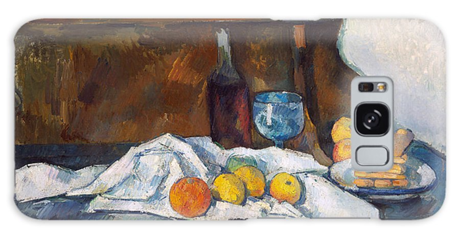Paul Cezanne Galaxy Case featuring the painting The Buffet, 1877 by Paul Cezanne