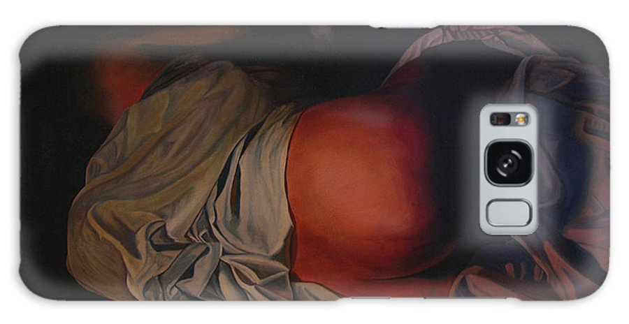 Sexual Galaxy S8 Case featuring the painting 12 30 A M by Thu Nguyen