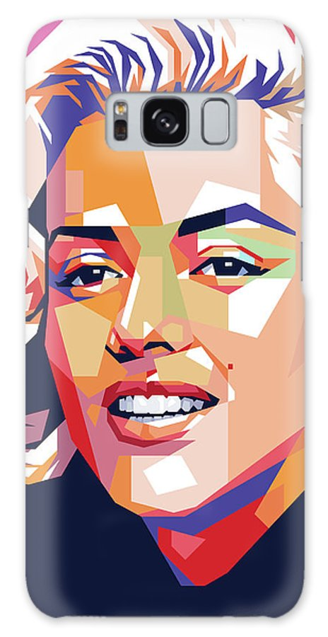 Marilyn Galaxy Case featuring the painting Marilyn Monroe by Stars on Art