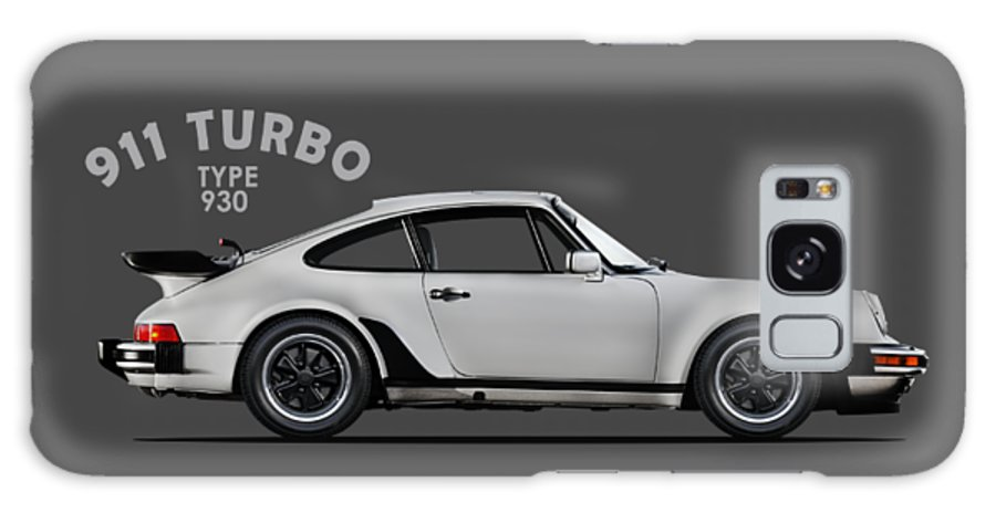 Porsche 911 Turbo Galaxy Case featuring the photograph The 911 Turbo 1984 by Mark Rogan