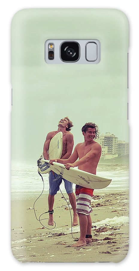Surfer Galaxy Case featuring the photograph Boys Of Summer by Laura Fasulo